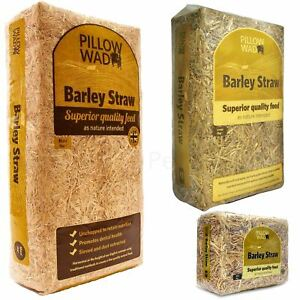 Pillow Wad Barley Straw Quality Dried Animal Pet Natural Bedding Feed