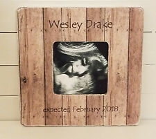 personalized sonogram frame - personalized baby gift - baby boy gift - new mom