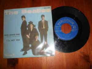 THE BEATLES-She loves you/I'll get you-Disco 45 giri-PARLOPHON-12/11/1963-