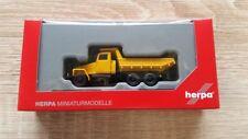 HERPA 307574 - 1/87 IFA G5 MULDENKIPPER - ORANGE - NEU