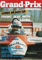 Niki Lauda: Front Seat :  Grand Prix International Magazine April 8th1982;Rare