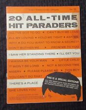 1964 20 All-Time Hit Paraders #55 Sheet Music Song Book VG- 22pgs ALL BEATLES