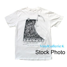 NEW RADIOHEAD REAPER MONTREAL WHITE DONWOOD WASTE M MEDIUM T SHIRT NWT SOLD OUT
