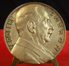 Médaille Adolphe Chéron La maison du jeune français 1885 1933  G Graf Medal 铜牌.