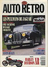 AUTO RETRO n°133 SEPTEMBRE 1991 ALFA MONTREAL DAUPHINE JAGUAR AUSTIN HEALEY