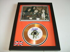 SLADE  SIGNED  GOLD CD  DISC  91
