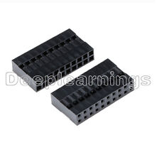 10PCS Dupont Connector Housing Female Connector 2.54mm 2,54mm 2x10Pin