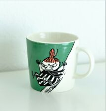 Arabia Finland Retired Moomin Mug Little My Sliding , Pikku Myy liukumäessä