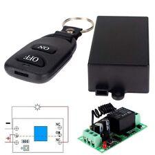 12V 10A sans fil 1CH simple commutateur RF Remote Control émetteur+ récepteur DC