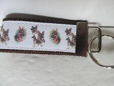 German Shepherd Key Chain or Key Fob. Handmade in USA.