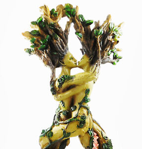 Kissing Tree Spirits Entwined Pagan Wiccan Woodland Figurine Statue Ornament NEW