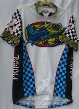 Primal Wear poison dart too print cycling jersey w/ 3 pockets men's size medium