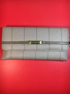 Vintage Liz Claiborne Wallet/ Card / Check Holder - Taupe - NWT