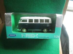 VOLKSWAGEN VW SAMBA CAMPERVAN (1:24 SCALE) BOXED LOT D1