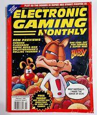 EGM ELECTRONIC GAMING MONTHLY 43 FEB 1993 SNES 300+ GAMES/BUBSY/TGX Johnny Turbo