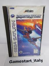 GALACTIC ATTACK (SEGA SATURN) NTSC VERSION USED BOXED