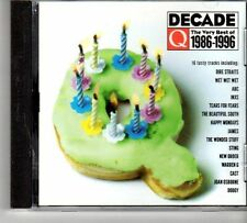 (FD637A) Decade The Very Best Of 1986-1996 - sealed 1996 Q Magazine CD