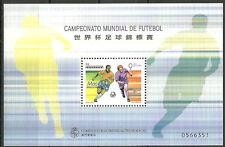 La Cina Macao-Mondiali di Calcio Francia post fresco 1998 MER. 976 blocco 56