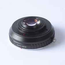 Reducer speed booster turbo adapter Canon EF EOS to m4/3 mft GH4 GF6 GX1 EM5 EM1