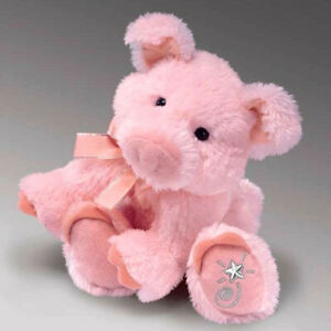 Shining Stars Pig Plush Soft Toy Russ Berrie Collectible New w/ Tags