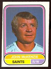 1975 76 OPC O PEE CHEE WHA #77 JOHN MCKENZIE NM MINNESOTA FIGHTING SAINTS HOCKEY