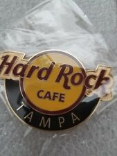 TAMPA,Hard Rock Cafe,Round LOGO Magnet (not opener)