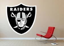Oakland Raiders NFL Football Wall Decal Decor For Home Car Laptop Sports