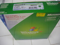 MICROSOFT WINDOWS XP HOME UPGRADE w/SP2 MS WIN =NEW RETAIL BOX=