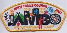 Witauchsoman Lodge 44 OA patch X23 Minsi Trails Council Jambo 2015 CSP OA Staff