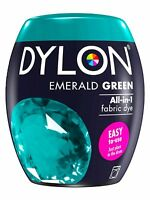 DYLON Textilfarbe Smaragd Grün Farbe & Fixierer für 600g Stoff fabric dye