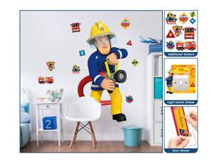 Walltastic Kinder Sticker WT4433 Feuerwehrmann Sam