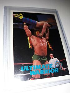 1990 Classic WWF #43 The Ultimate Warrior