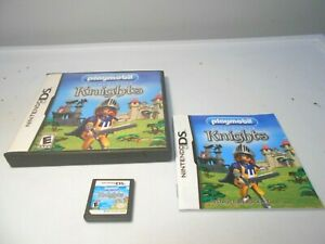 Playmobil Knights (Nintendo DS) game lite dsi xl 3ds 2ds