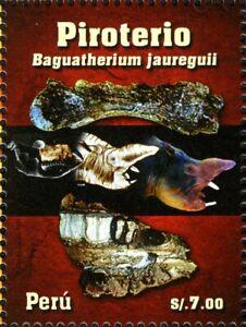 PERU 2009 Wildlife Prehistoric Animals - Baguatherium jauregu   MNH Unused stamp