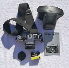 Rollei SL 35 E, Zeiss & Rollei lenses, cases, and manual
