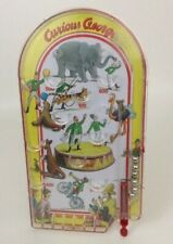 Schylling Toys Curious George Monkey Handheld Pinball Game Toy Retro Circus