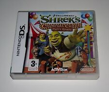 Shrek's Carnival craze party games for Nintendo DS LITE DSi XL 3DS