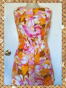 mid century mod sleeveless swirls mod 1960s dress retro disco 1970s TWIGGY MOD Dress...small medium geometric gogo lace costume