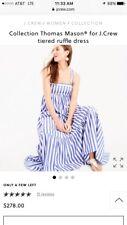 J. Crew Collection NWT!! Thomas Mason Striped Maxi Dress Sz8