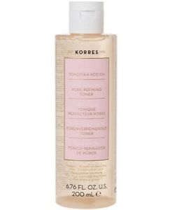 Korres Pomegranate Pore Refining Toner Reduces Oiliness Excess Sebum Pores 200ml