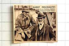 1939 Mr J Whittaker, Auctioneer With Mr James Bailey, Marton At Congleton Market