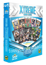 2018 NRL Rugby Trading Game Cards Xtreme Album Folder Inc Bonus Mini Footy Star