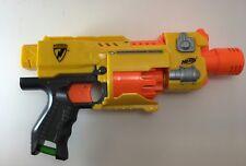 NERF N-Strike Barricade RV-10 Motorized Dart Gun Blaster Tested Works!