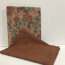 New Pressed 2 PC Set of Matching Fat Quarters (17X21) 2FQ458 Free Ship