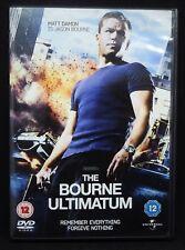 The Bourne Ultimatum DVD-Matt Damon-Region 2,Action.Adventure,Fast Free Shipping