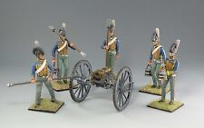 British Royal Horse Artillery set 5 figs with 5.5 Howitzer by Country Honor