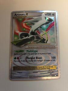 Arceus Lv.X 95/99 Arceus Ultra - Rare Holo - Foil Pokémon Card - Very Good Cond