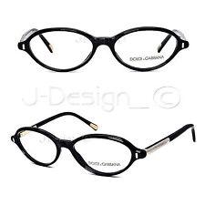 Dolce&Gabbana D&G DG 3105 501 Black 52/16/135 Eyeglasses Rx Made in Italy - New