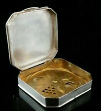 Other Antique Solid Silver Compacts