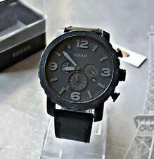 Fossil Herrenuhr Uhr Armbanduhr Chronograph Edelstahl Nate JR1354